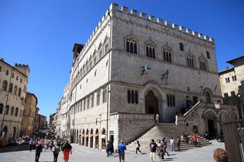 Palazzo dei Priori sede del Comune di Perugia