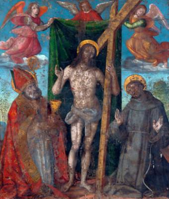 Il Gonfalone della bottega di Giovanni Santi