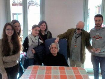 I giovani in visita al Centro Speranza di Fratta Todina