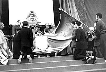 Luigi Gedda e Papa Pio XII