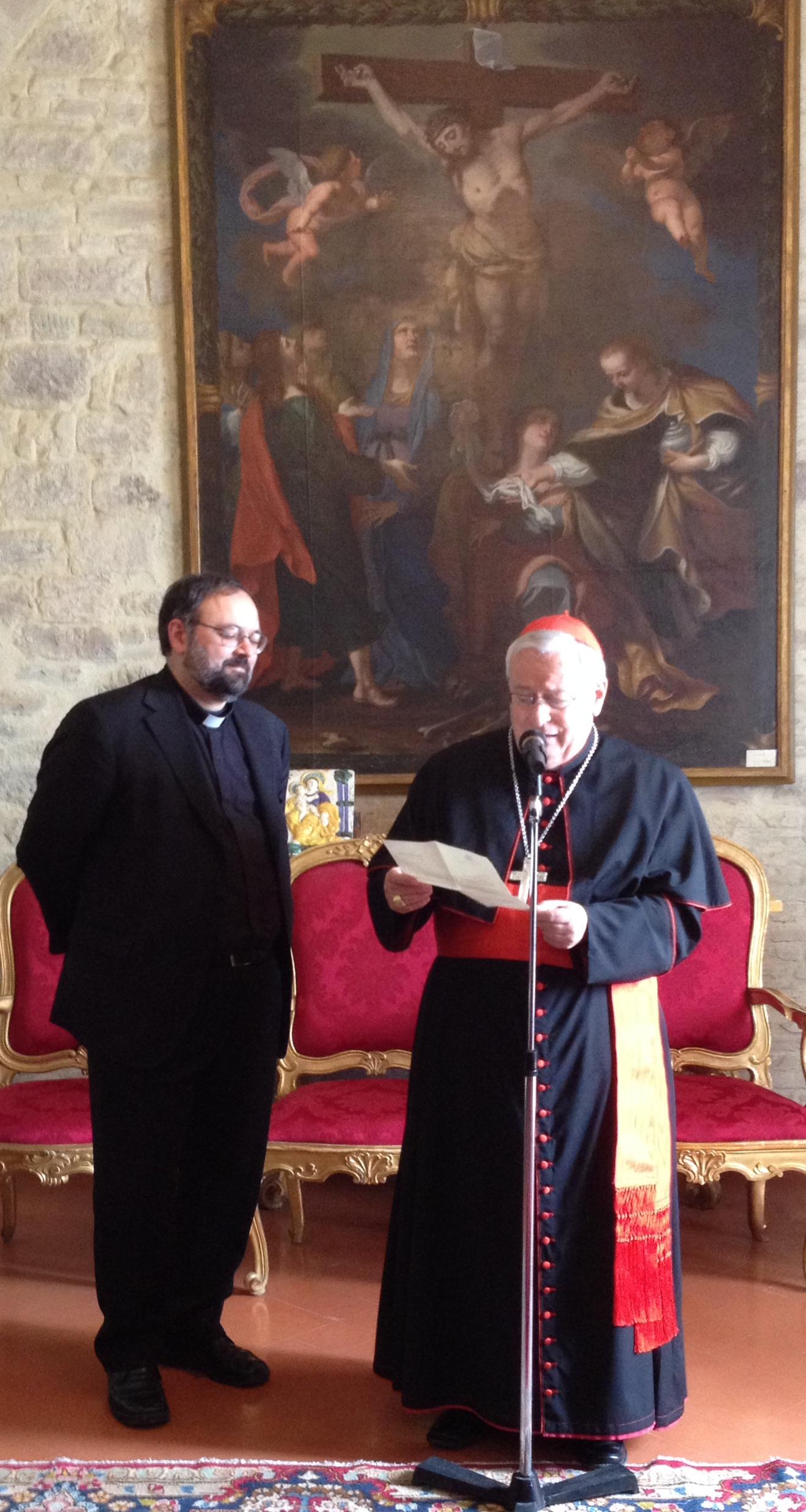 Il Cardinale Bassetti annuncia la nomina di mons. Giulietti a Vescovo ausiliare di Perugia