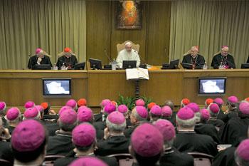 Papa Francesco apre i lavori della 66esima Assemblea Cei