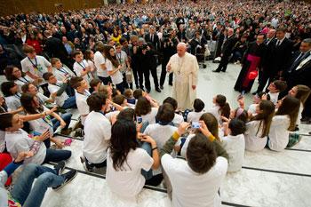 Papa Francesco riceve in udienza l'Azione Cattolica
