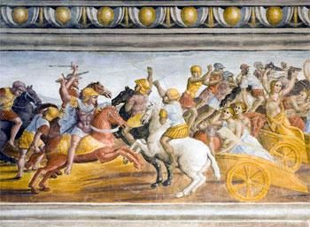 Una delle tante opere che si possono ammirare nella Pinacoteca di Città di Castello