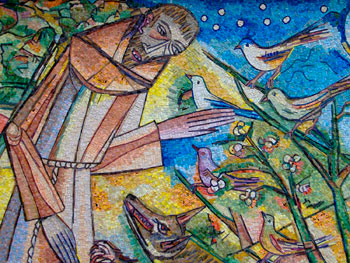 San Francesco che predica al creato