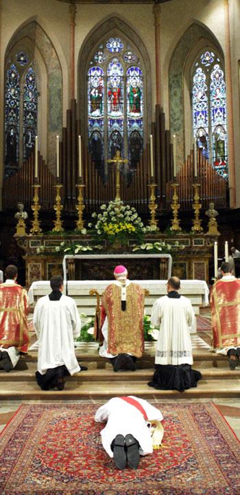 Perugia - Ordinazione presbiterale in Cattedrale