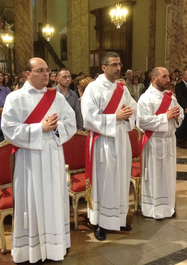matteo lorenzo e marco neo sacerdoti diocesani