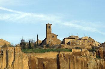 Orvieto, chiesa di san Giovenale edificata nel 1004