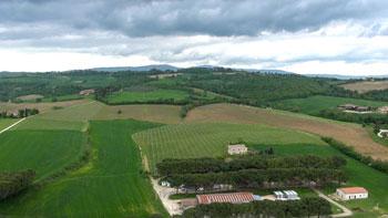 La campagna intorno a Todi