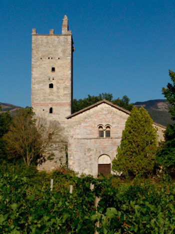 L'abbazia dei santi Fidenzio e Terenzio a Massa Martana