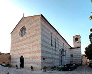 La chiesa di San Domenico a Spoleto