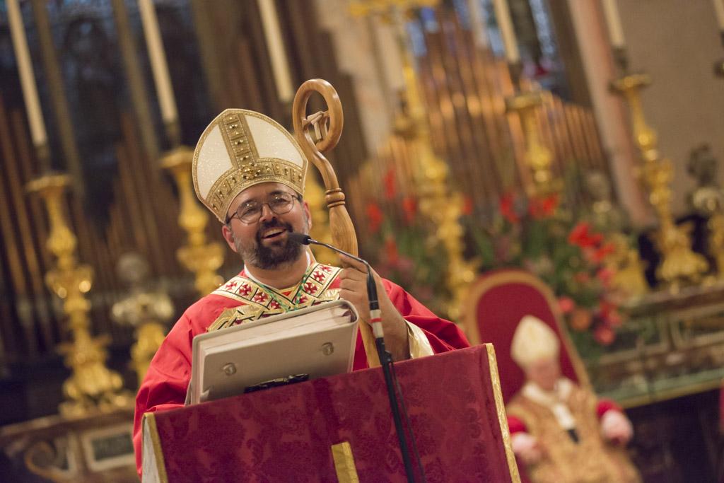 Mons. Paolo Giulietti il giorno della sua ordinazione episcopale