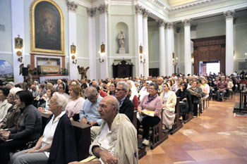 Gli intervenuti all'assemblea