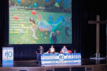 I relatori di uno degli incontri dell'H2O