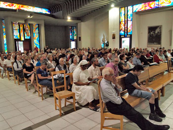 Primo giorno di assemblea, numerosi i partecipanti