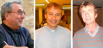 Mons. Luigi Lupini, Don Luca Lepri, Don G. Bonomi Boseggia
