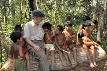 Missionario tra gli Indios Yanomami