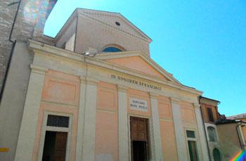 La chiesa di San Francesco a Foligno
