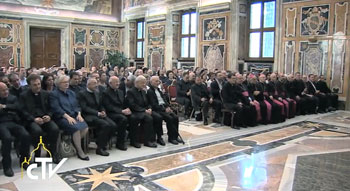 L'Associazione biblica italiana in udienza da Papa Francesco