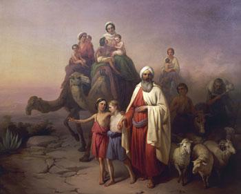 """""""Il viaggio di Abramo"""" di Jozsef Molnar"""