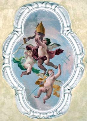 Angeli con insegne vescovili