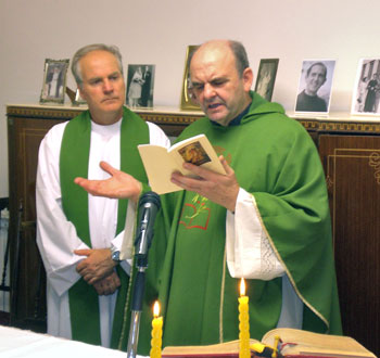 Don Armando Minelli e don Gabriele Pauletto