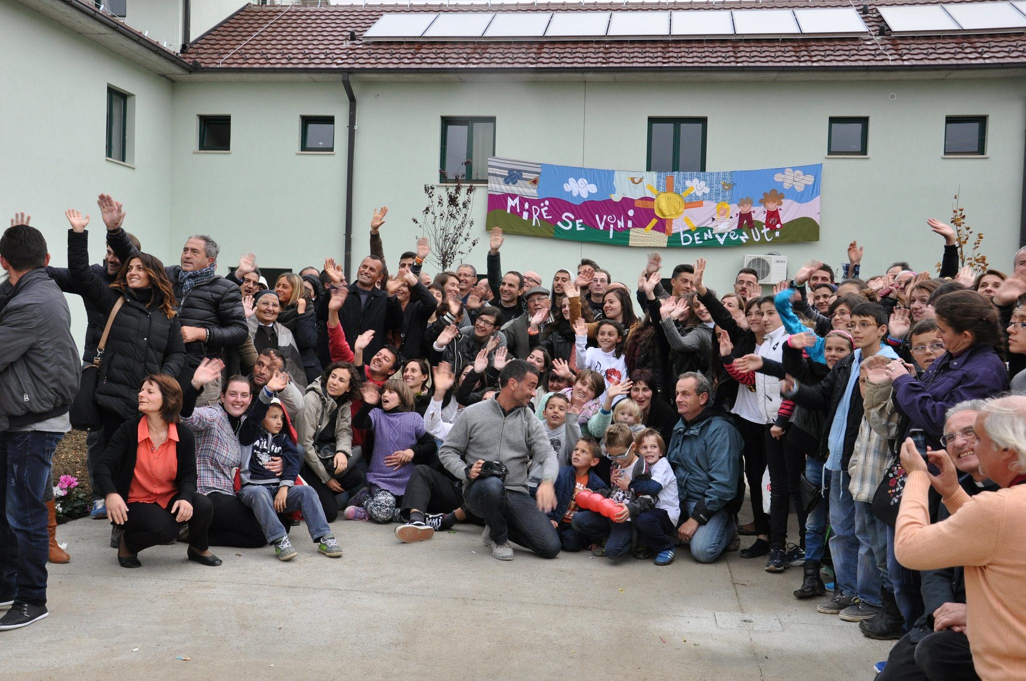 Inaugurazione Casa Caritas