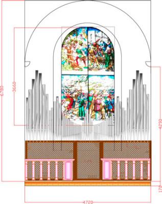 Il progetto del nuovo organo