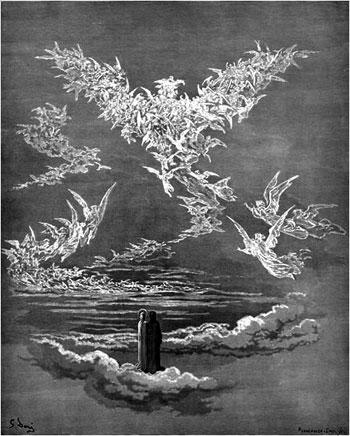 """L'Aquila del paradiso di Dante, che è """"io"""" e """"noi"""" allo stesso tempo"""