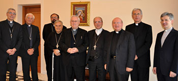 I vescovi della Conferenza episcopale umbra