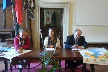 La conferenza stampa di presentazione dell'iniziativa