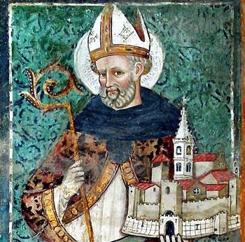 """""""San Benedetto e Norcia"""", Antonio e Giovanni Sparapane 1466, ex chiesa di S. Francesco a Tuscania (Viterbo) (Foto della locandina)"""