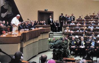 Il discorso del 1988 di Giovanni Paolo II all'europarlamento