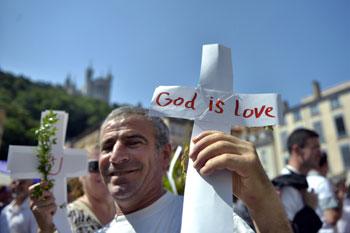Manifestazione di cristiani in Iraq