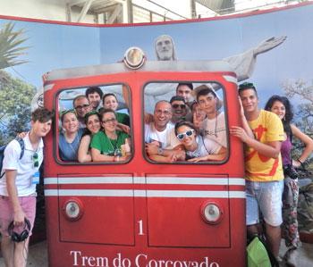 Giovani della pastorale giovanile della diocesi di Assisi-Nocera-Gualdo alla Gmg di Rio