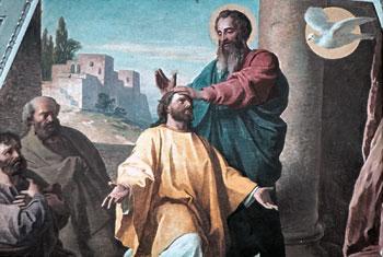 San Paolo consacra vescovo di Efeso il suo discepolo Timoteo