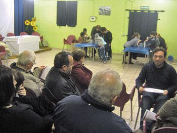Genitori e bambini all'incontro promosso dal Bar Sant'Erminio di Perugia