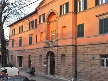L'ex-ospedale di Foligno