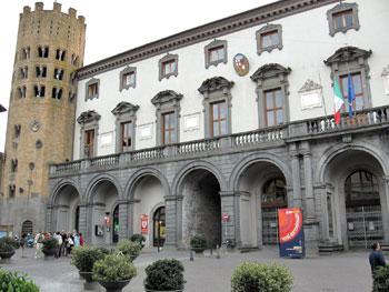 Il palazzo comunale di Orvieto