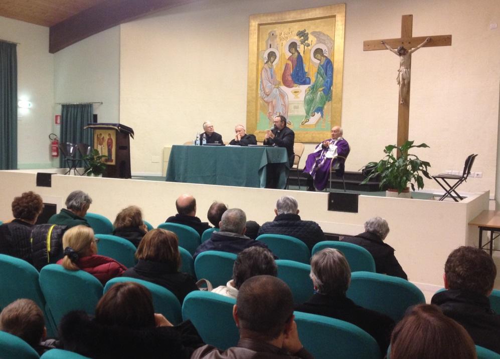 conclusione visita pastorale card bassetti oratorio di marsciano 30 nov. 2014