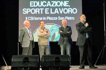 Un momento del 14° Meeting di Assisi