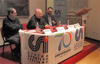 Don Albertini, Mons. Piemontese con Moretti