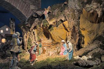 Il presepe permantente della chiesa di Sant'Agostino di Gubbio
