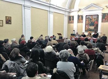 Ampia partecipazione all'incontro che si è tenuto presso il Centro ecumenico di Perugia