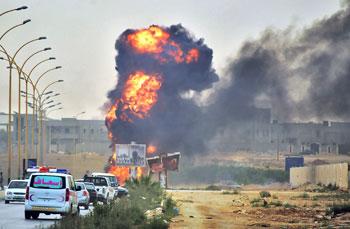 La Libia sotto attacco dell'Isis
