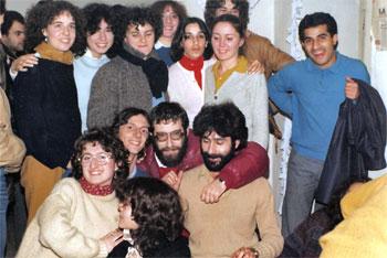 Incontro di Cl con gli studenti iraniani (Perugia, 1981)