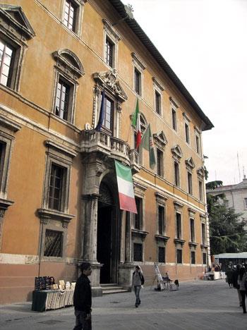 Palazzo Donini sede della Regione dell'Umbria