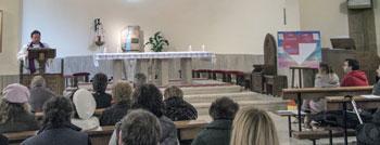 Un momento dell'incontro della Scuola della Parola di sabato 14 marzo