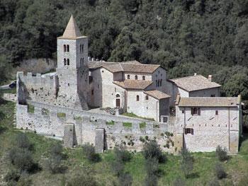 L'Abbazia dei santi Cassiano e Ippolito a Umbertide