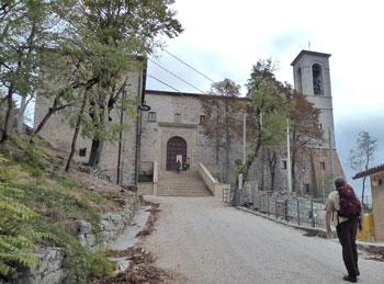 La basilica di Sant'Ubaldo sul monte Ingino